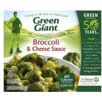 Green Giant  Broccoli & Zesty Cheese Sauce Food Product Image