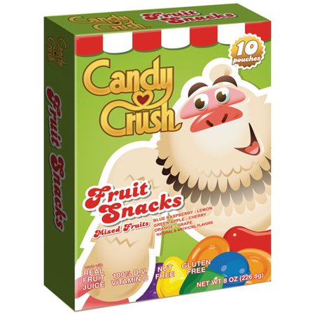 Candy Crush Mixed Fruits Fruit Snacks, 8 oz Food Product Image