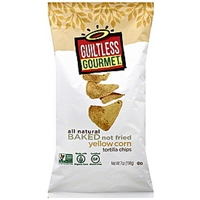 Guiltless Gourmet Tortilla Chips Yellow Corn Food Product Image