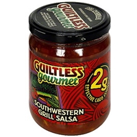 Guiltless Gourmet Southwestern Grill Salsa Food Product Image