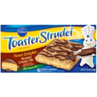 Toaster Strudel Sweet Delights Boston Cream Pie Toaster Pastries Food Product Image