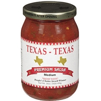 Texas - Texas Texas Salsa Medium Premium Salsa Food Product Image