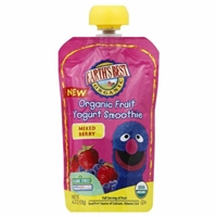 Earth's Best Organic Mixed Berry Fruit Yogurt Smoothie Food Product Image