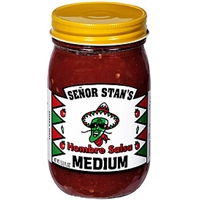 Senor Stans Hombre Salsa Medium Food Product Image