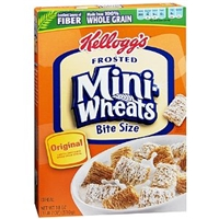 Mini Wheats Mini Wheats, Lightly Sweetened Whole Grain Cereal, Original Food Product Image