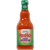 Franks Red Hot Slammin' Sriracha Sauce Food Product Image