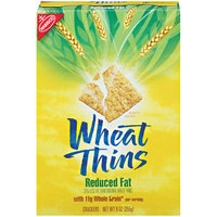 Wheat Thins Reduced Fat Crackers Food Product Image