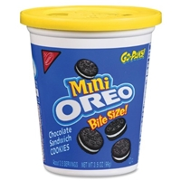 Nabisco Mini Oreo Bite Size Go-Paks! Food Product Image