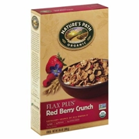 Nature's Path Organic Flax Plus Red Berry Crunch Cereal Food Product Image