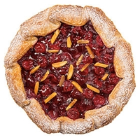 Wegmans Cookies Cherry Crostata, Large Food Product Image