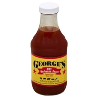 George's Hot BBQ Sauce Food Product Image