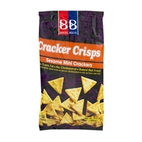 Beigel Beigel Cracker Crisps Sesame Mini Crackers Food Product Image