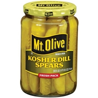 Mt. Olive Kosher Dill Spears Food Product Image
