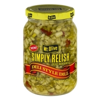 Mt. Olive Simply Relish Deli Style Dill Food Product Image