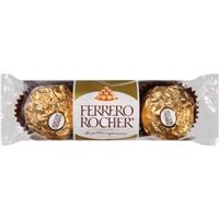 Ferrero Rocher Fine Hazelnut Chocolates - 3 CT Food Product Image