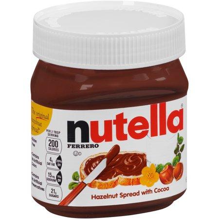 Nutella Ferrero Hazelnut Spread Food Product Image