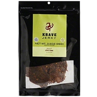 Krave Jerky Beef Chili Lime Flavor Food Product Image