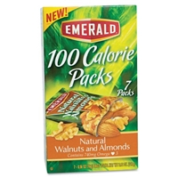 Emerald 100 Calorie Packs Natural Almonds & Walnuts - 7 CT Food Product Image