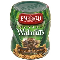 Emerald Of California Walnuts Glazed, Chocolate Brownie Food Product Image