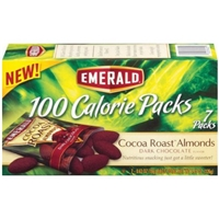Emerald Cocoa Roast Almonds 100 Calorie Packs - 7 PK Food Product Image