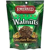 Emerald Of California Glazed Walnuts Chocolate Brownie Food Product Image