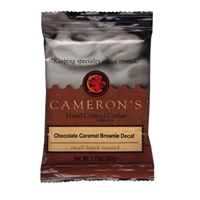 Cameron?s Decaf Chocolate Caramel Brownie Ground Coffee, 1.75 oz Food Product Image