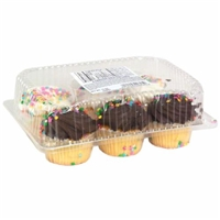 Yellow Cupcakes Food Product Image
