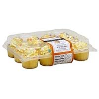 Maplehurst Cupcakes Mini, Vanilla, Spring Celebration Food Product Image