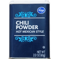 Kroger Hot Mexican Style Chili Powder Food Product Image
