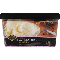 Private Selection Crushed Vanilla Bean Ice Cream Food Product Image