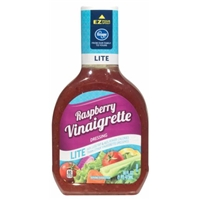 Kroger Lite Raspberry Vinaigrette Dressing Food Product Image