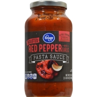 Kroger Roasted Red Pepper & Garlic Pasta Sauce Product Image