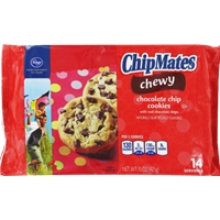 Kroger ChipMates Chewy Chocolate Chip Cookies Food Product Image