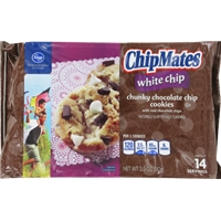 Kroger ChipMates White Chip Chunky Chocolate Chip Cookies Food Product Image
