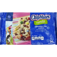Kroger ChipMates Candy Chocolate Chip Cookies Food Product Image