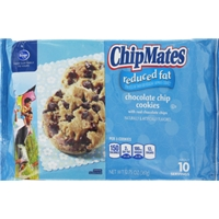 Kroger Chipmates Reduced Fat Chocolate Chip Cookies Food Product Image