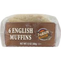 Kroger 7-Grain English Muffins Product Image
