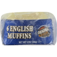 Kroger Original English Muffins Food Product Image