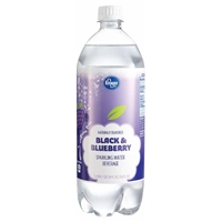 Kroger Black & Blueberry Sparkling Water Food Product Image