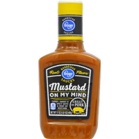 Kroger Mustard On My Mind BBQ Sauce Food Product Image