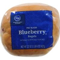 Kroger Blueberry Bagels Food Product Image