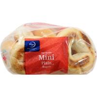 Kroger Plain Mini Bagels Food Product Image