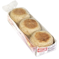 Dillons Premium English Muffins Honey Wheat, Double Fork Split Food Product Image