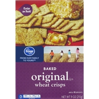 Kroger Wheat Squares Food Product Image