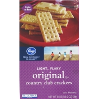 Kroger Original Country Club Crackers Food Product Image