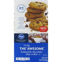 Kroger Homestyle Chocolate Chip Cookies Food Product Image