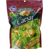 Kroger Caesar Croutons Food Product Image