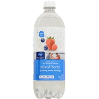 Kroger Mixed Berry Sparkling Water Food Product Image
