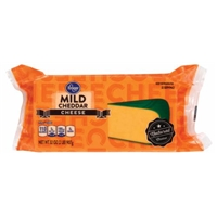 Kroger Mild Cheddar Cheese Food Product Image