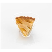 Private Selection Peach Pie Slice Food Product Image